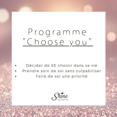"""Programme """"Choose you"""""""