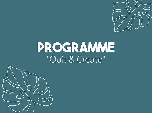"Programme de coaching ""Quit & Create"""