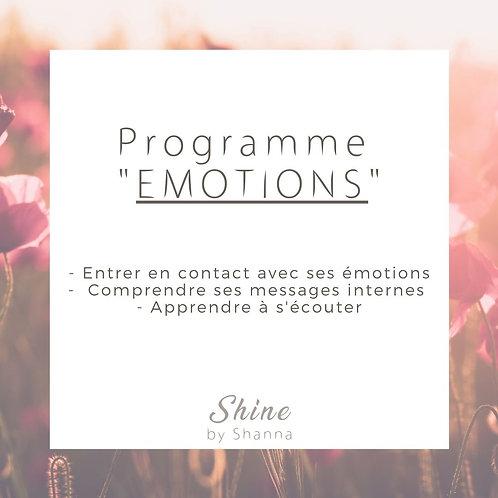 "Programme ""Emotions"""