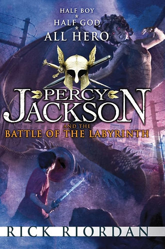 Percy Jackson and the Battle of the Labyrinth; Rick Riordan