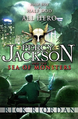 Percy Jackson and the Sea of Monsters; Rick Riordan