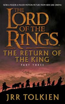 The Lord of the Rings Part Three: The Return of the King; JRR Tolkein
