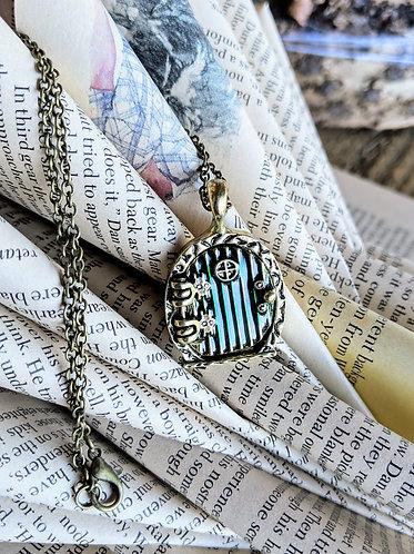 Hobbit Door Necklace