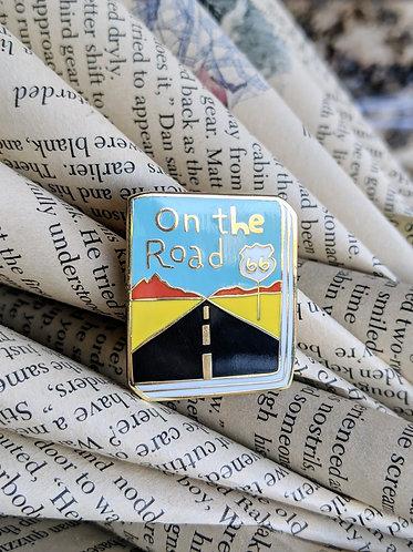 On the Road Jack Kerouac Book pin