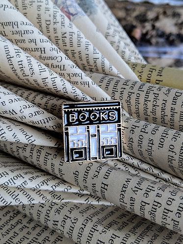 Bookstore pin