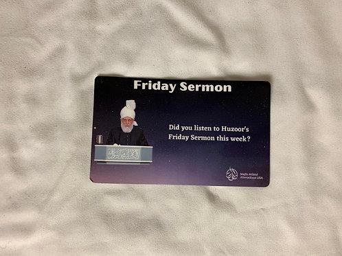 Friday Sermon Magnet
