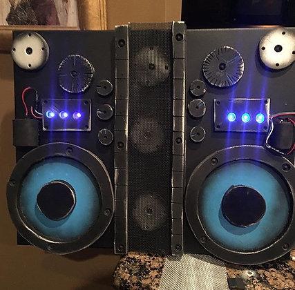 Boom Box w/ LED Lights