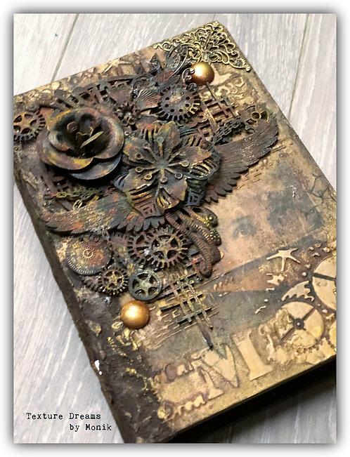 Porta llaves Libro STEAMPUNK