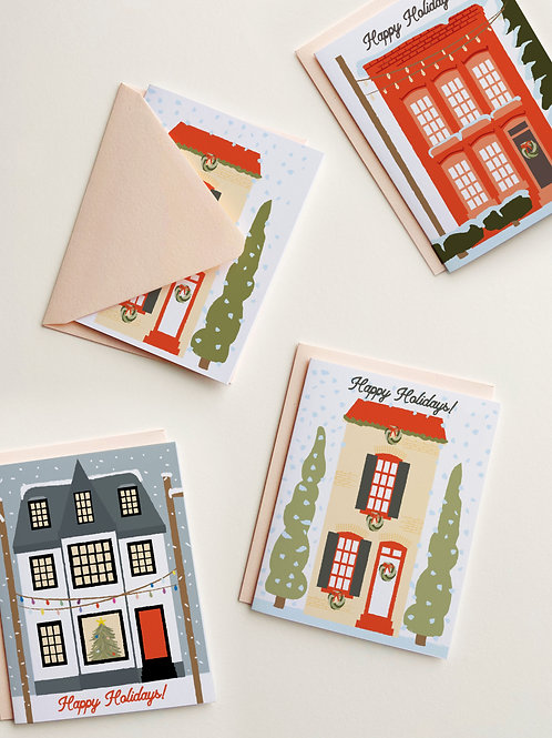 Christmas in Old Town Stationery Set