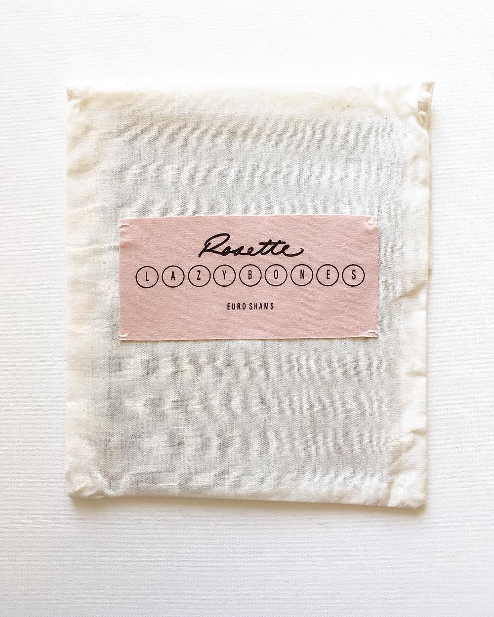Packaging Design Lazybones Euro Sham