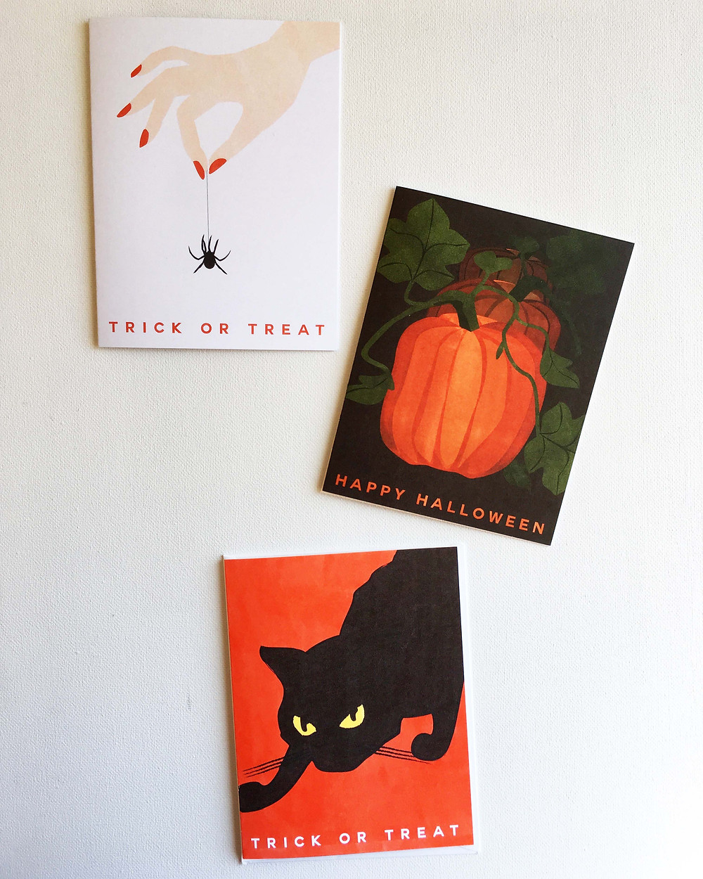 Heartthrob Studio Illustrated Halloween Greeting Cards