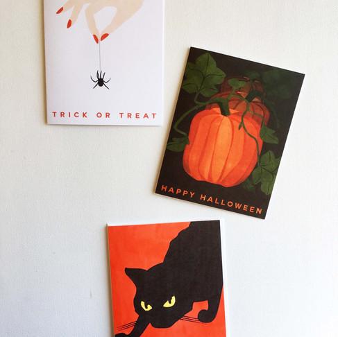 Heartthrob Studio Halloween Greeting Cards