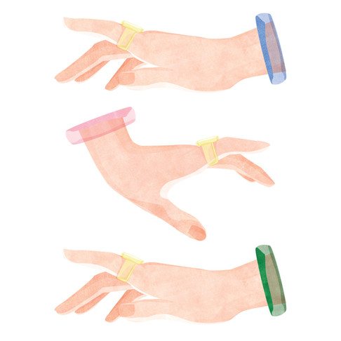ILLUSTRATION: HAND GESTURE SERIES