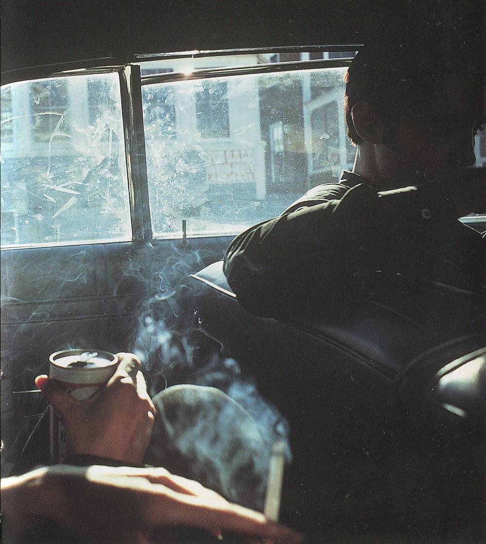 Nan Goldin, Smokey Car, New Hampshire, 1979
