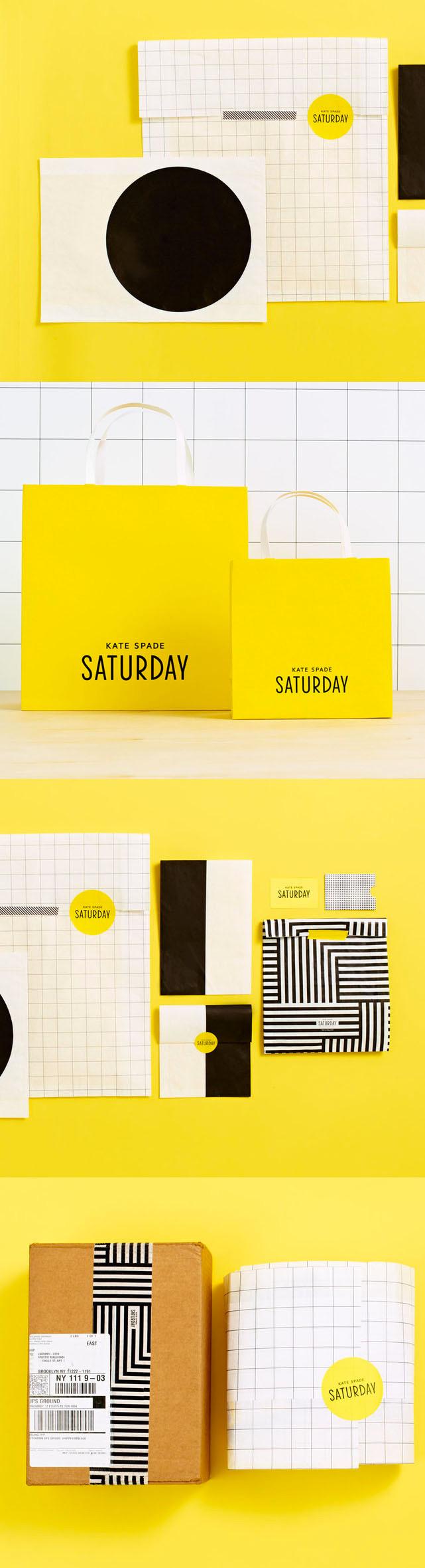 Kate Spade Saturday Packaging Design