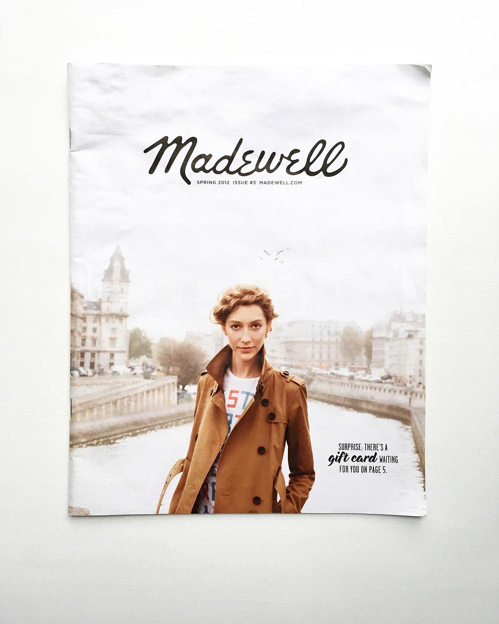 Catalog Design Madewell 3rd Issue