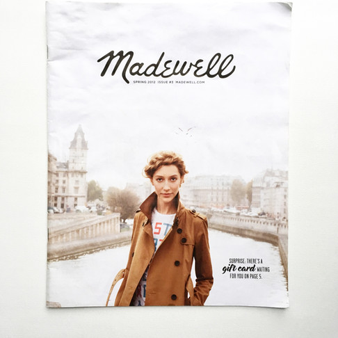 CATALOG CRUSH: Madewell Lookbook