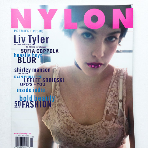 YOU SHOULD BE JEALOUS: NYLON Magazine PREMIER ISSUE IS HERE...