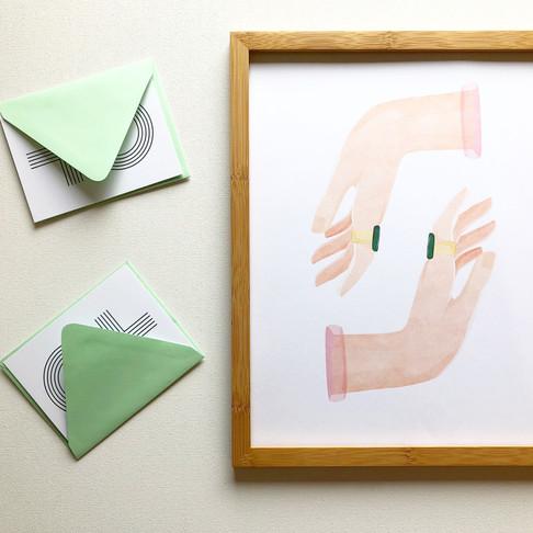 CREATIVE DIRECTION: HAND GESTURE SERIES