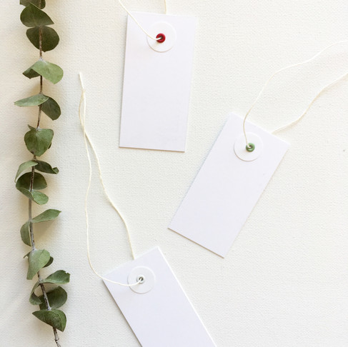 Heartthrob Studio Minimal Gift Tags