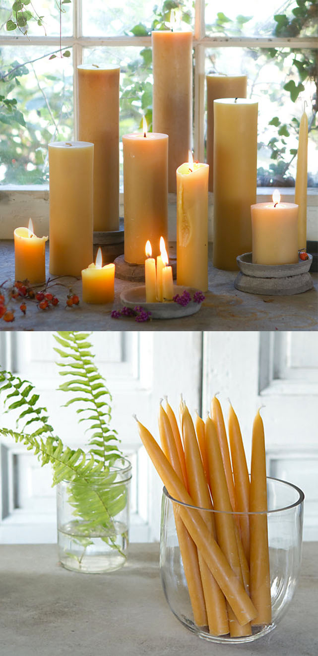 Terrain Beeswax Candles
