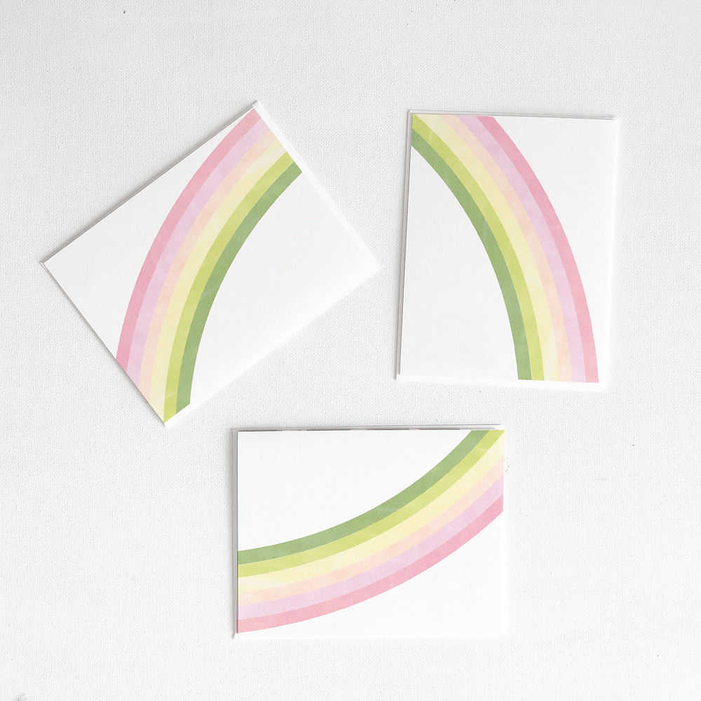 Rainbow Card Set
