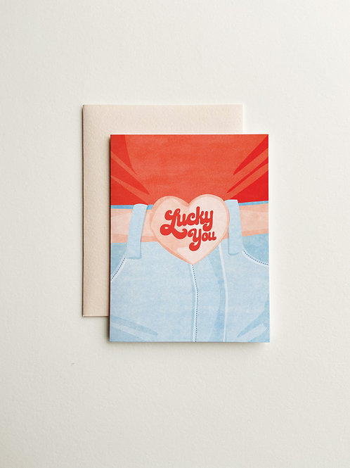Lucky You Valentine