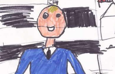 C'est l'histoire d'une petite fille agitée en classe…