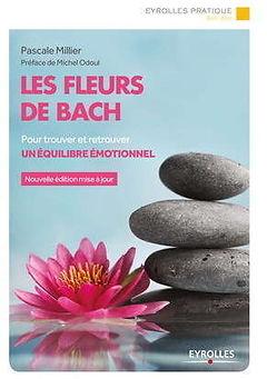 livre les fleurs de bach de pascale millier aux éditions eyrolles lotus galets