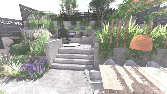jardin-pente-amenagement-celine-alleaume