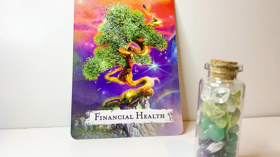 Intention Bottle - Financial Abundance