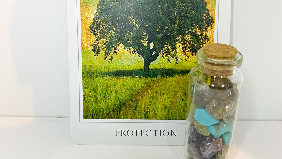 Intention Bottle - Protection