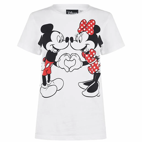 Character Short Sleeve T ShirtColour Minnie Mouse Size 8 (XS)