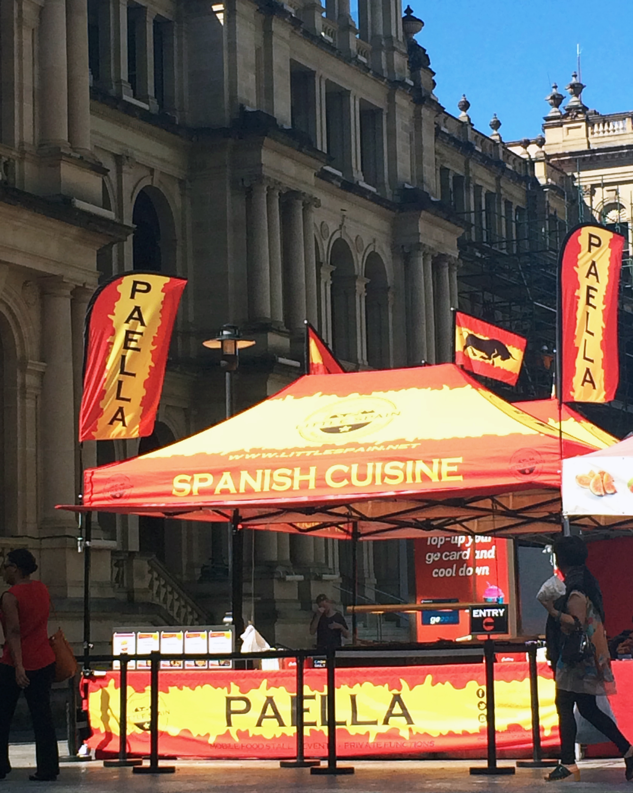 Little Spain Mobile Food Stall