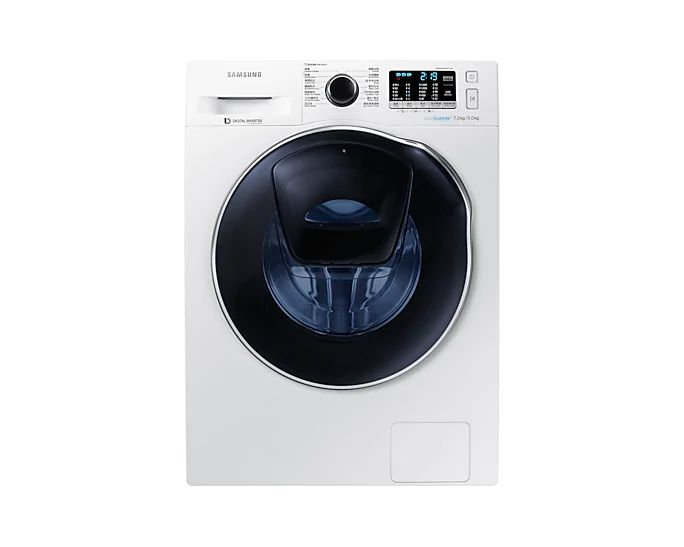 Samsung 三星 前置式二合一洗衣乾衣機 (7kg/5kg, 1400轉/分鐘) WD70K5410OW/SH