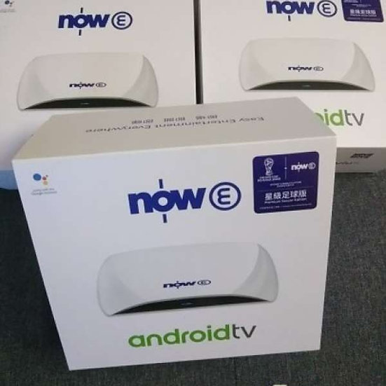Now E Android TV 盒子