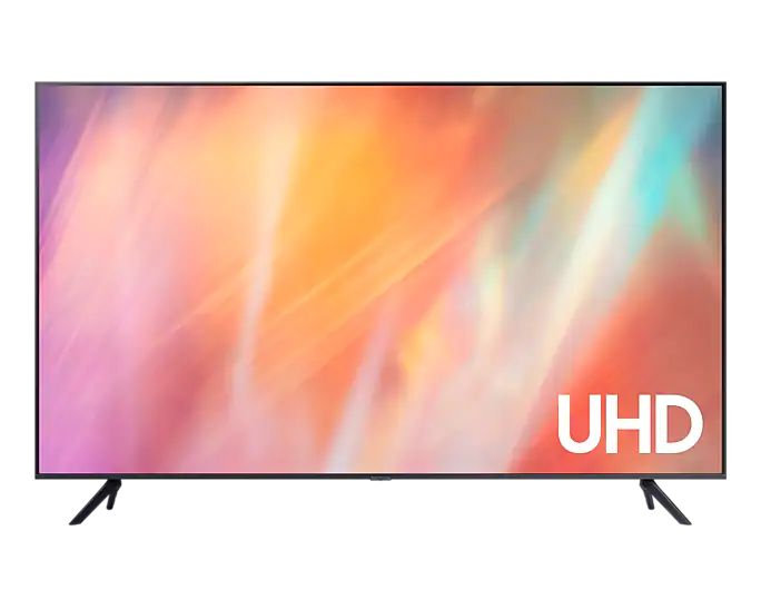 "Samsung 70"" AU7700 Crystal UHD 4K Smart TV (2021) UA70AU7700JXZK"