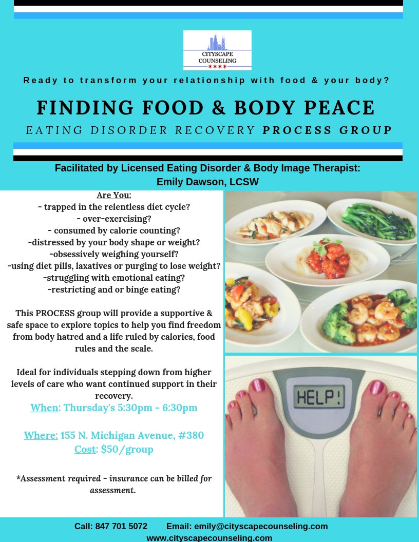 Eating Disorder group Chicago