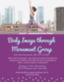 Body Image Dance Movement Therapy Group Chicago