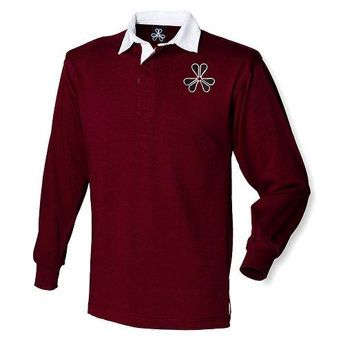 BHC Rugby Shirt - Burgandy
