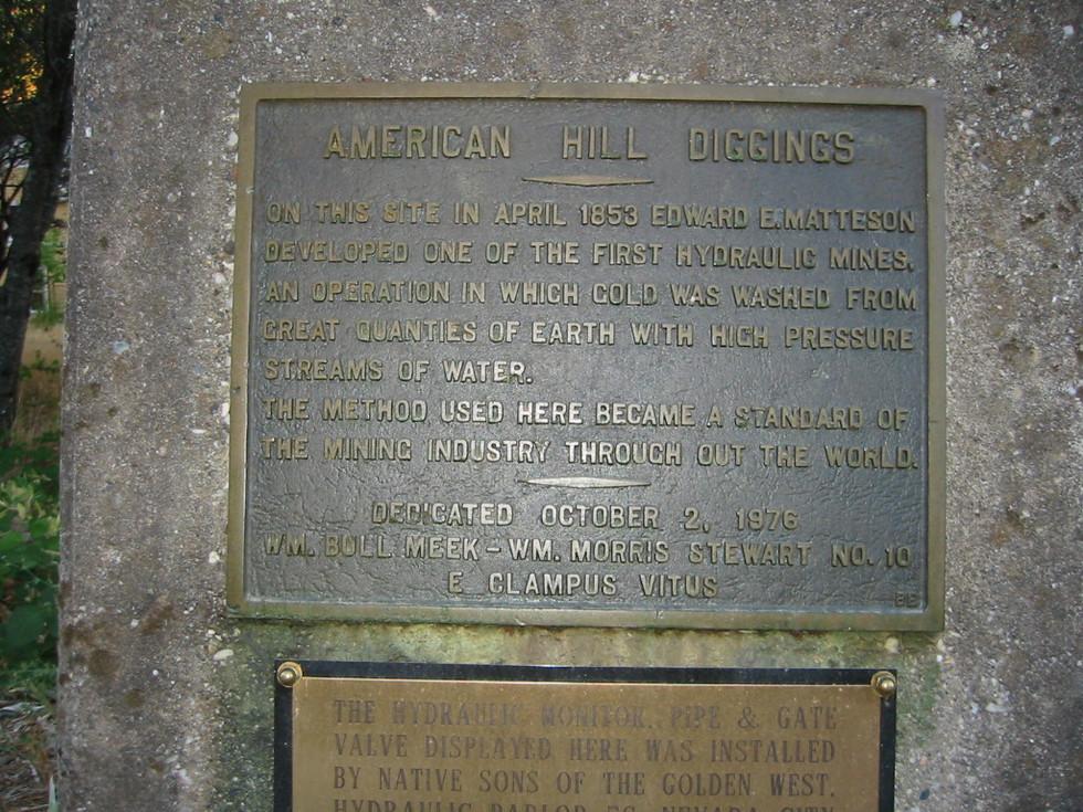 36.American Hill Diggings Plaque.jpg
