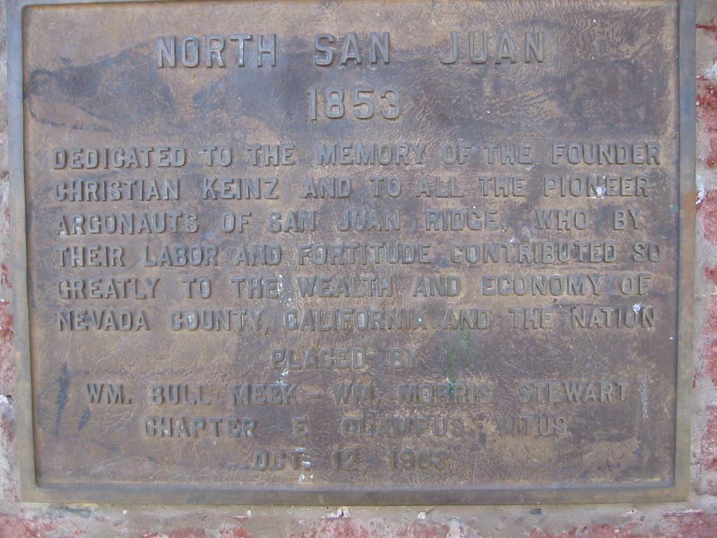 North San Juan -  1853