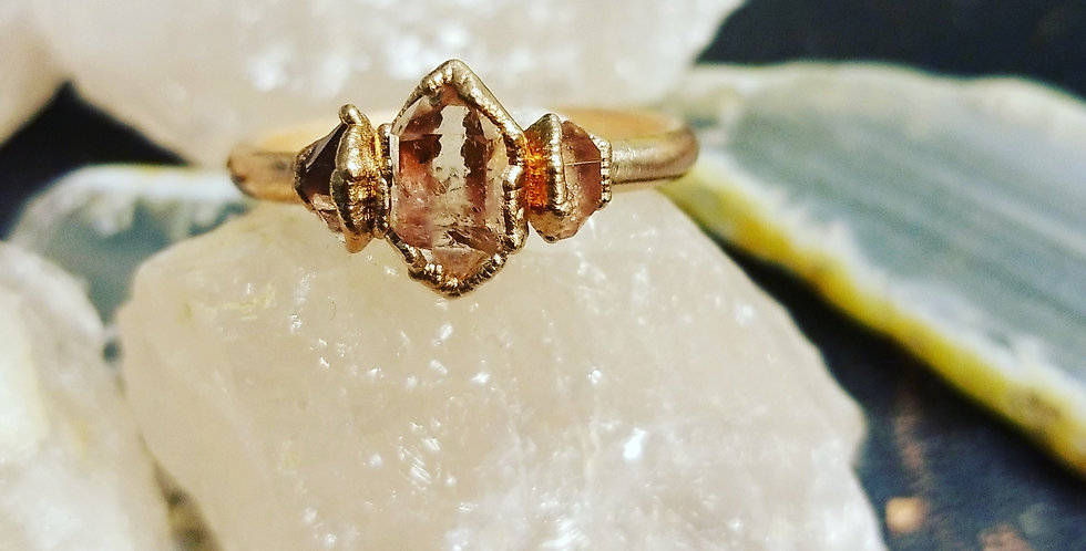 Pre-Order Herkimer Trio Ring