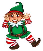 Juniper christmas elf