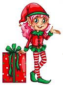 Sugarplum Marcy christms elf