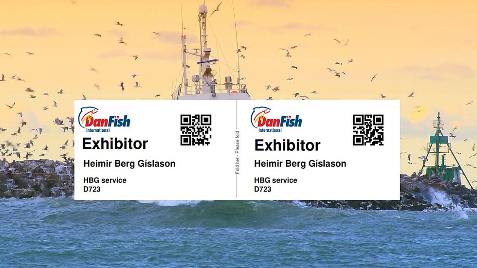 Danfish Fagmesse Registrering Navneskilt Onsite Branding