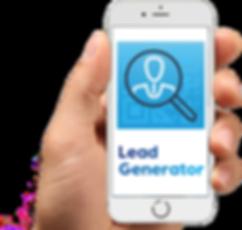 Lead Generator udstiller app mobil