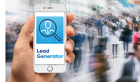 Hands on Lead Generator udstiller app