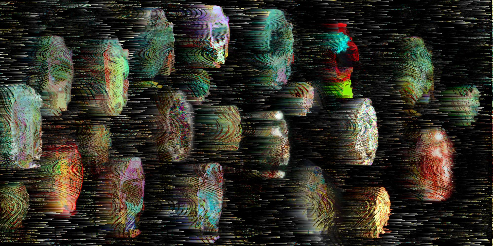 Patternwoman, video image