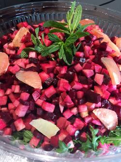 Salade Betteraves et pommes